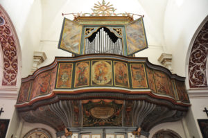 Orgue de la collégiale de Speloncato en Balagne – Photo Elizabeth PARDON